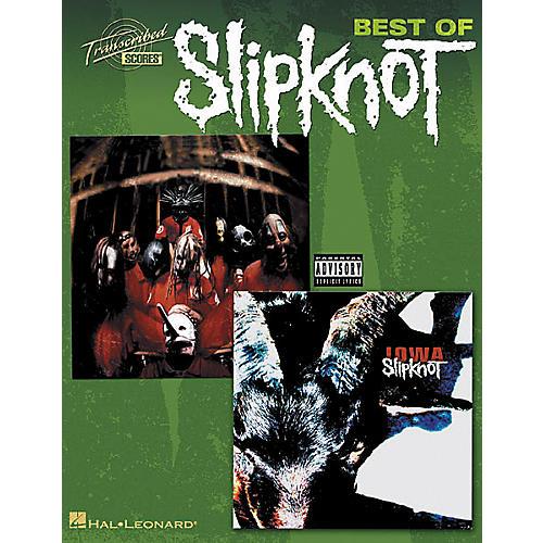 Hal Leonard Best Of Slipknot Guitar Tab Songbook