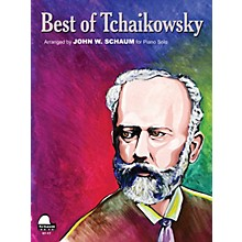 SCHAUM Best Of Tchaikowsky Educational Piano Series Softcover