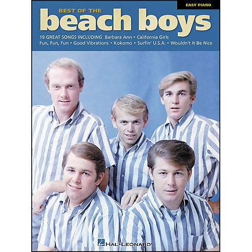 Hal Leonard Best Of The Beach Boys for Easy Piano
