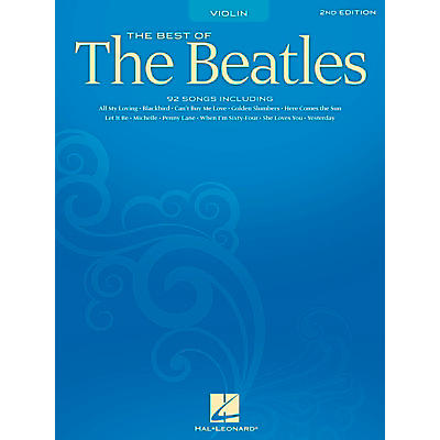 Hal Leonard Best Of The Beatles - 2nd Edition for Violin