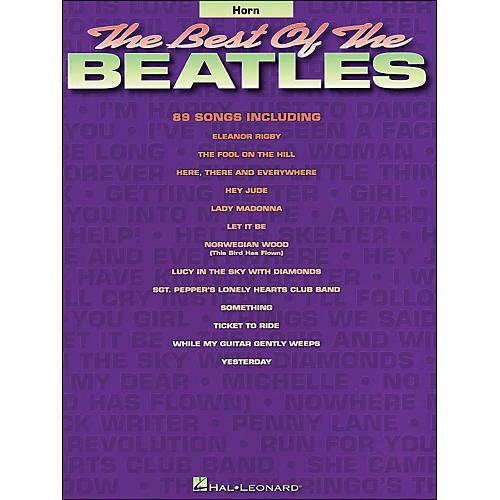 Hal Leonard Best Of The Beatles Horn