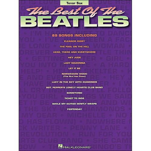 Hal Leonard Best Of The Beatles Tenor Sax