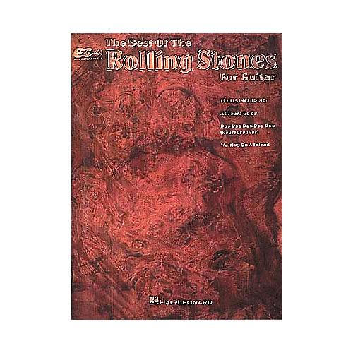 Hal Leonard Best Of The Rolling Stones Easy Guitar Tab Book
