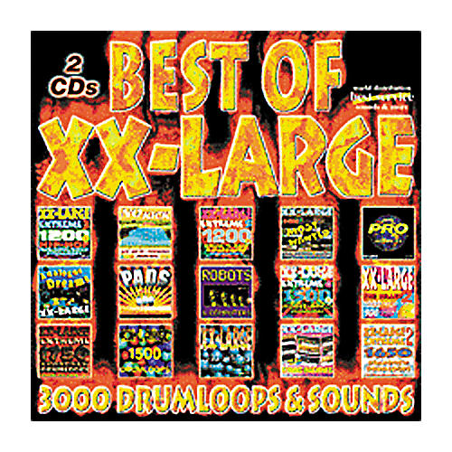 EastWest Best Of XX-Large Greatest Hits Audio Sample CD-ROM