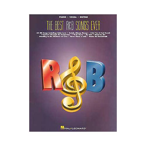 Hal Leonard Best R'n'B Songs Ever Book