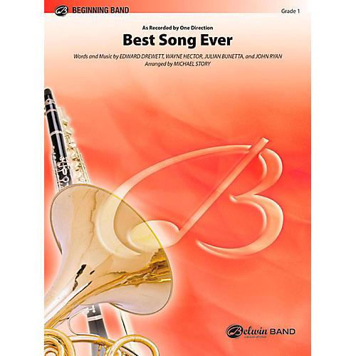 Alfred Best Song Ever Concert Band Level 1 Set