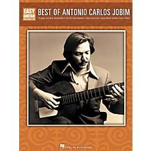 Hal Leonard Best of Antonio Carlo Jobim Easy Guitar w/Tab