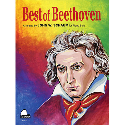 SCHAUM Best of Beethoven Educational Piano Series Softcover