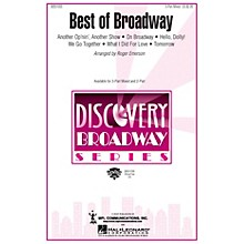Hal Leonard Best of Broadway (Medley) 3-Part Mixed arranged by Roger Emerson