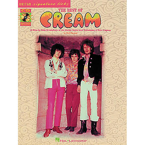Hal Leonard Best of Cream Guitar Tab Songbook with CD & Lessons