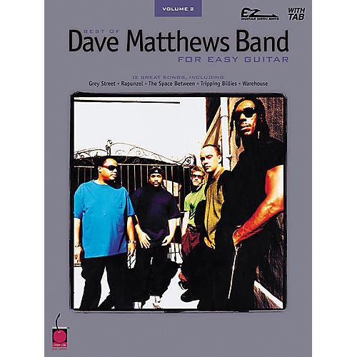 Cherry Lane Best of Dave Matthews Band Easy Guitar Tab Songbook