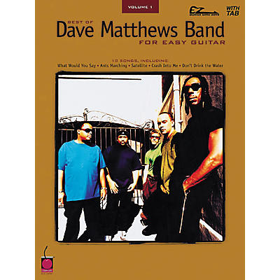Cherry Lane Best of Dave Matthews Band for Easy Guitar Volume 1