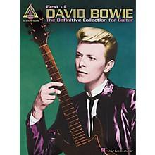 Hal Leonard Best of David Bowie Guitar Tab Book