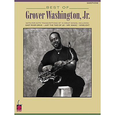 Hal Leonard Best of Grover Washington, Jr. (Saxophone)