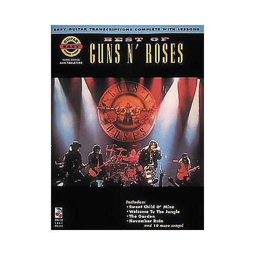 Cherry Lane Best of Guns N' Roses Book