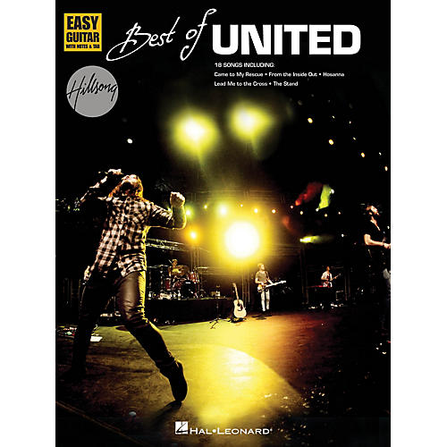 Hal Leonard Best of Hillsong United (Easy Guitar) Easy Guitar Series Softcover Performed by Hillsong United