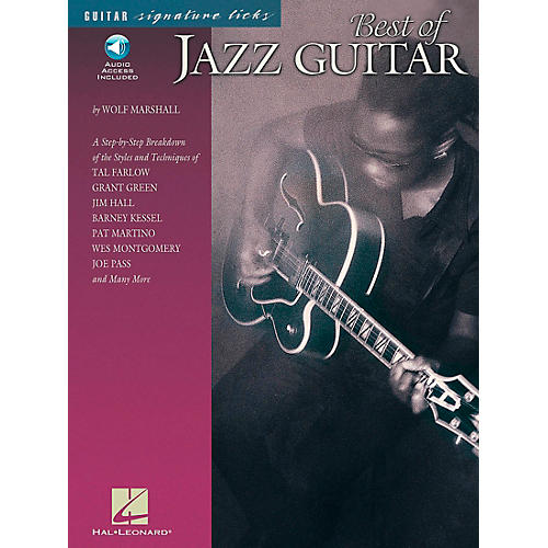 Hal Leonard Best of Jazz Guitar Signature Licks Book with CD