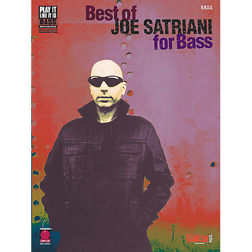 Cherry Lane Best of Joe Satriani for Bass Guitar Tab Songbook