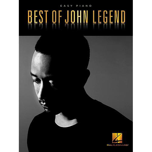 Hal Leonard Best of John Legend - Easy Piano