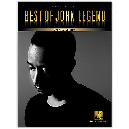 Hal Leonard Best of John Legend (Updated Edition) Easy Piano Personality Series Softcover Performed by John Legend