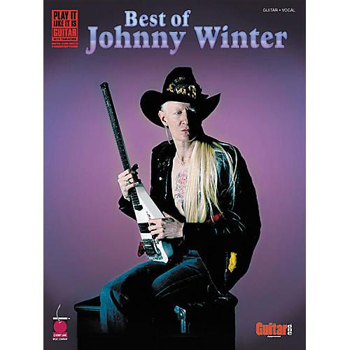 Cherry Lane Best of Johnny Winter Guitar Tab Songbook