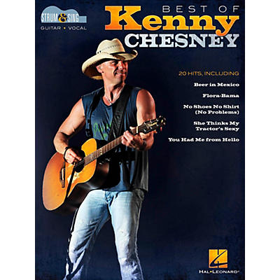 Hal Leonard Best of Kenny Chesney - Strum & Sing Guitar