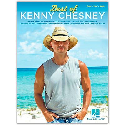 Hal Leonard Best of Kenny Chesney Piano/Vocal/Guitar Artist Songbook