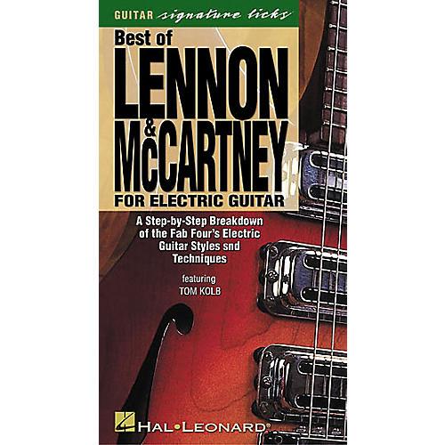 Hal Leonard Best of Lennon and McCartney for Electric Guitar (VHS)