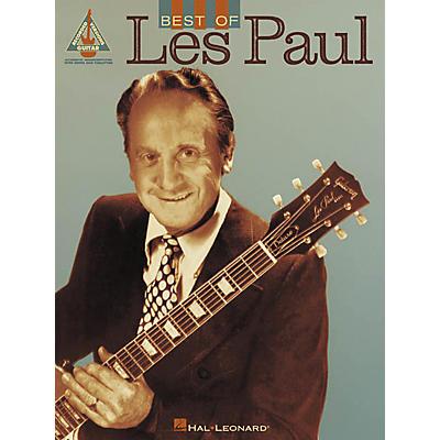 Hal Leonard Best of Les Paul Guitar Tab Songbook