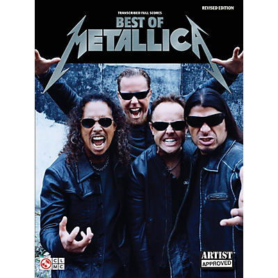 Cherry Lane Best of Metallica - Transcribed Full Scores Guitar Personality Series Softcover Performed by Metallica