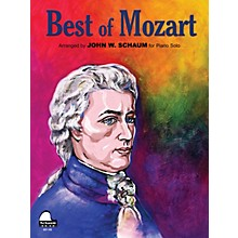 SCHAUM Best of Mozart Educational Piano Series Softcover