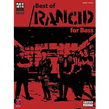 Cherry Lane Best of Rancid Bass Guitar Tab Songbook