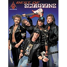 Hal Leonard Best of Scorpions Guitar Tab Songbook