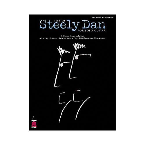 Hal Leonard Best of Steely Dan for Solo Guitar Book
