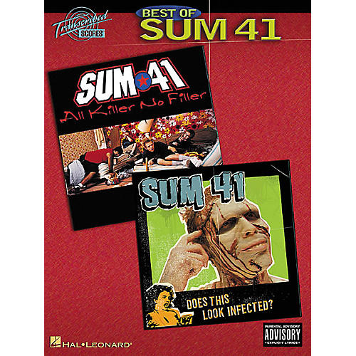 Hal Leonard Best of Sum 41 Transcribed Score Book