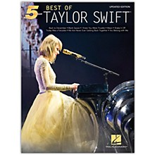 Hal Leonard Best of Taylor Swift - Updated Edition Five Finger Piano Artist Songbook Series Softcover by Taylor Swift
