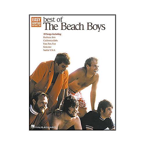 Hal Leonard Best of The Beach Boys Easy Guitar Book