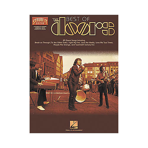 Hal Leonard Best of The Doors Book