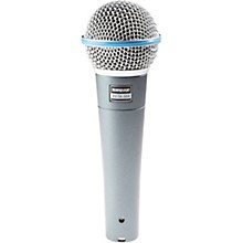 Open Box Shure Beta 58A Supercardioid Dynamic Vocal Microphone