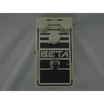 SolidGoldFX Beta Bass Effect Pedal