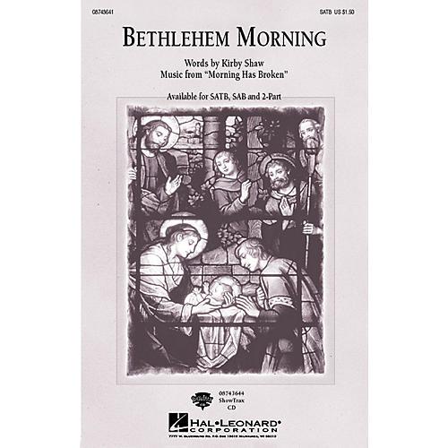 Hal Leonard Bethlehem Morning SATB composed by Kirby Shaw