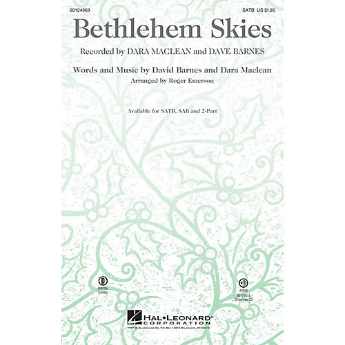Hal Leonard Bethlehem Skies 2-Part Arranged by Roger Emerson