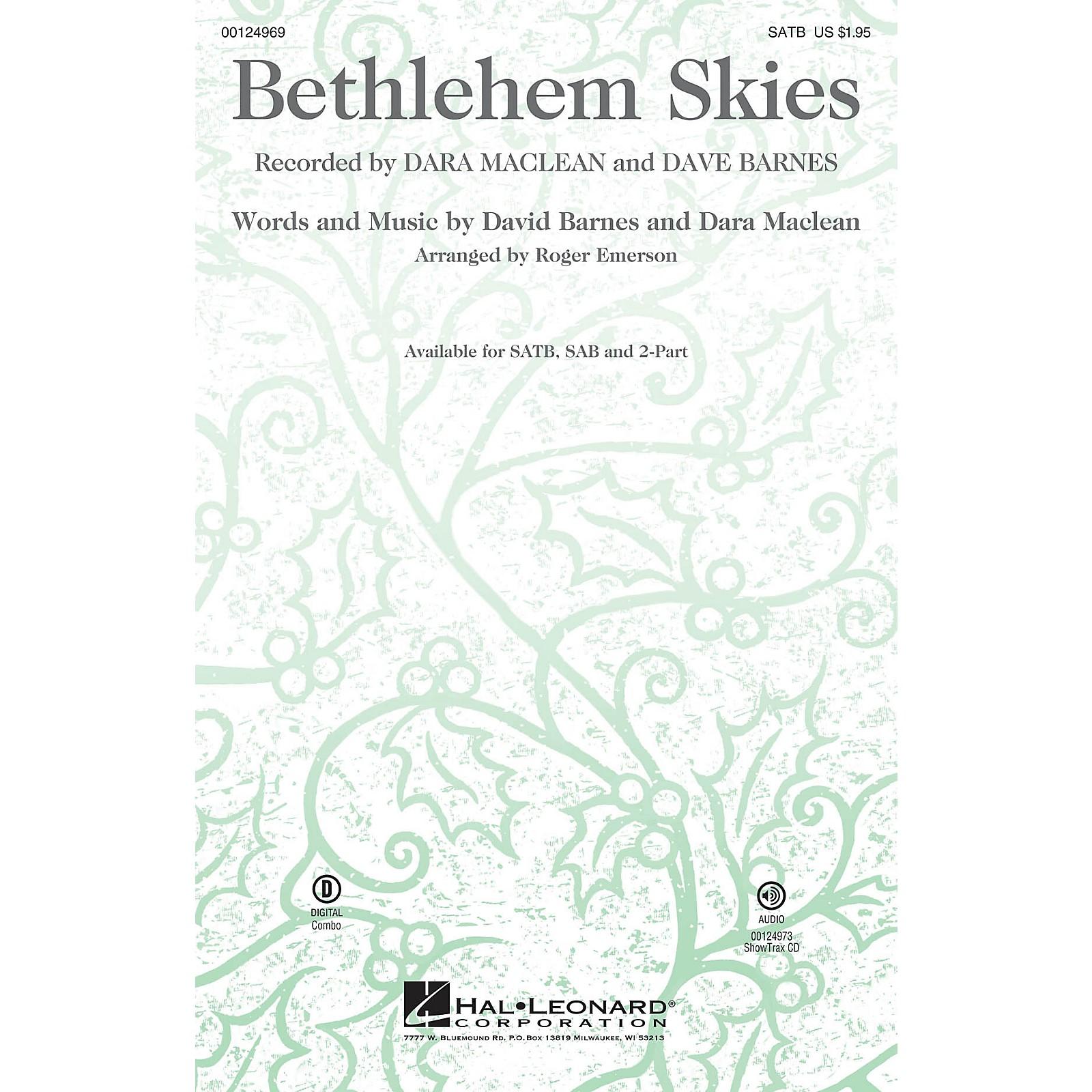 Hal Leonard Bethlehem Skies ShowTrax CD Arranged by Roger Emerson