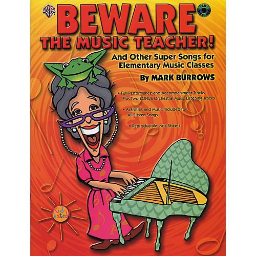Alfred Beware The Music Teacher! (Book/CD)