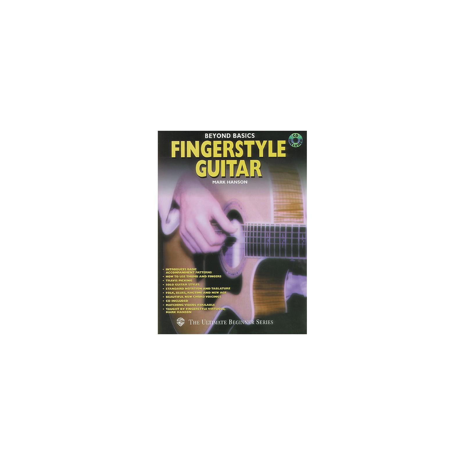 Alfred Beyond Basics - Fingerstyle Guitar (Book/CD)