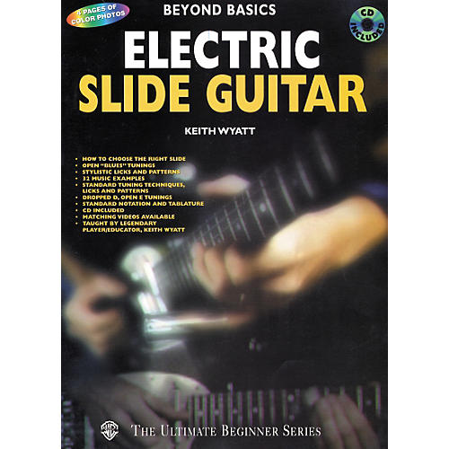 Alfred Beyond Basics Electric Slide Guitar Book/CD