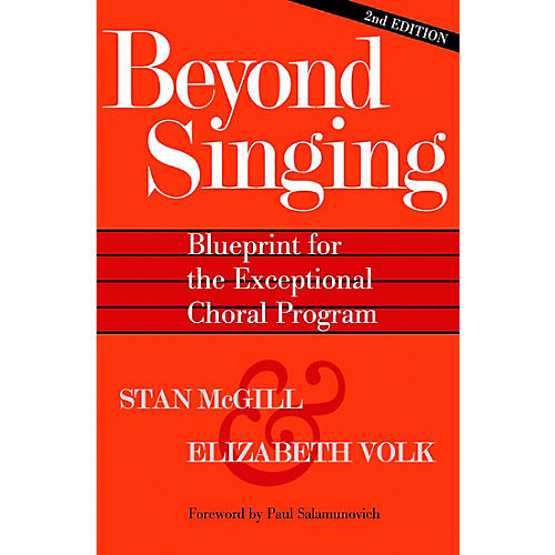 Hal Leonard Beyond Singing (Blueprint for the Exceptional Choral Program) Book/CDR