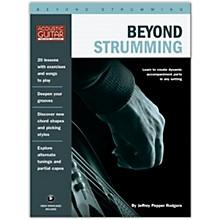 Hal Leonard Beyond Strumming - Acoustic Guitar Private Lessons Series Book/Audio Online