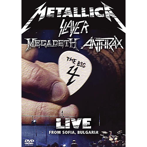 WEA Big 4 Live from Sofia Bulgaria: Metallica, Slayer, Megadeth, Anthrax 2 DVDs