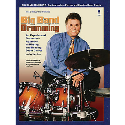 Music Minus One Big Band Drumming Music Minus One Series Softcover with CD Written by Ray Von Ratz